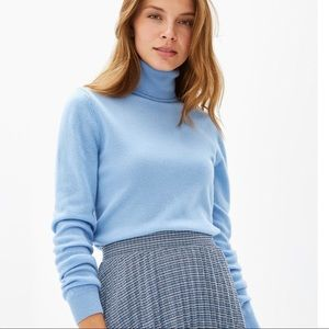 🛍 💯wool Light blue Turtleneck